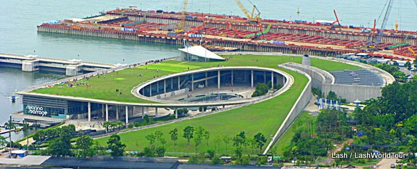 things to do in singapore - Marina Barrage - Singapore