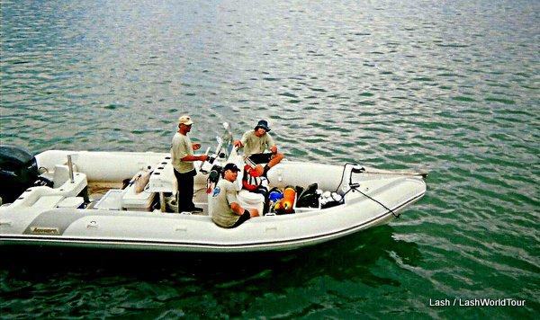 Marine Department with transport boat - Survivor Thailand