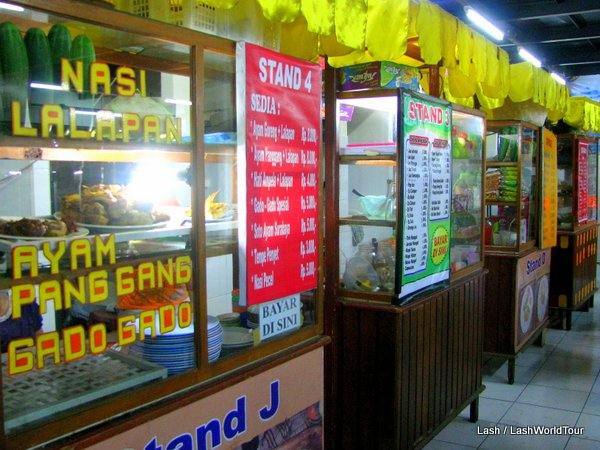 food stalls in Bali