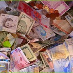 international currencies- money
