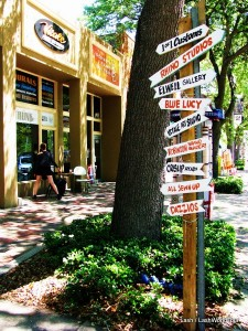 signs - art shops - St Petersburg - Florida