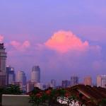 sunrise - Kuala Lumpur city - malaysia