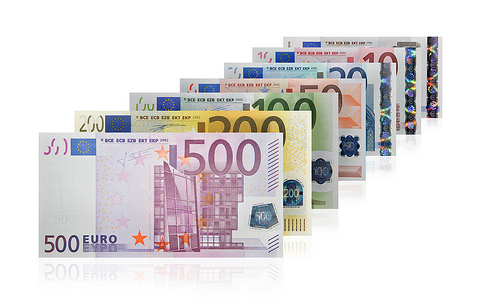 exchange money - Euros