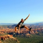 travel interview - Ryan Gargiulo jumping over canyon - Pause the Moment