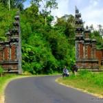 road to Kintamani - Mt Batur crater rim - Bali
