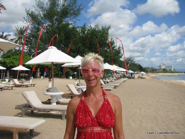 Lash at Sanur Beach - Bali