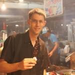travel interview - Dave-Market-Brunei - Dave's Travel Corner
