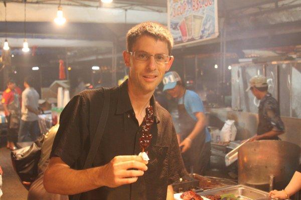 travel interview - Dave-Market-Brunei -DAve's Travel Corner