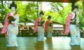 Geisha dances in summer - Kyoto