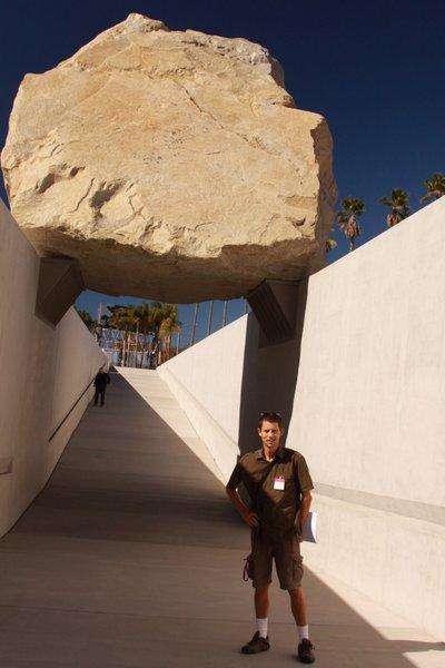 Dave's Travel Corner-Levitated-Mass-LACMA-LA