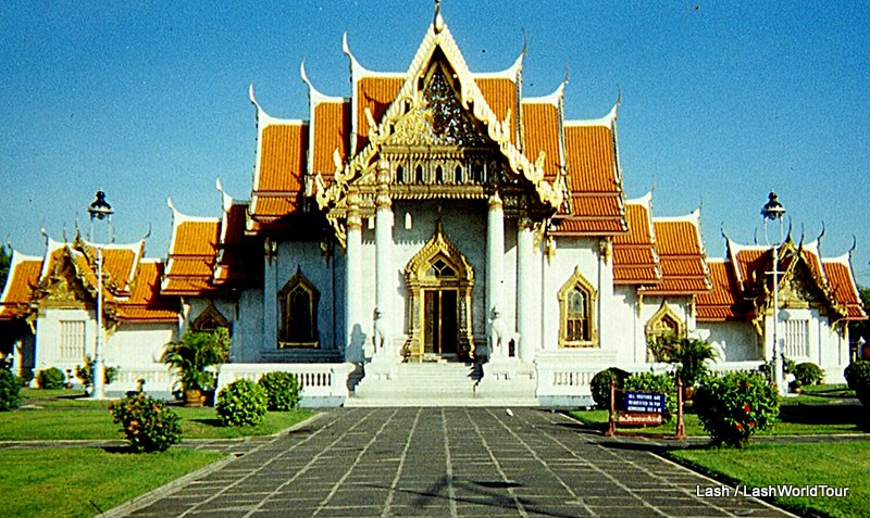 temples of Thailand - Wat Benchanabopit - Marble Temple - Bangkok - THailand