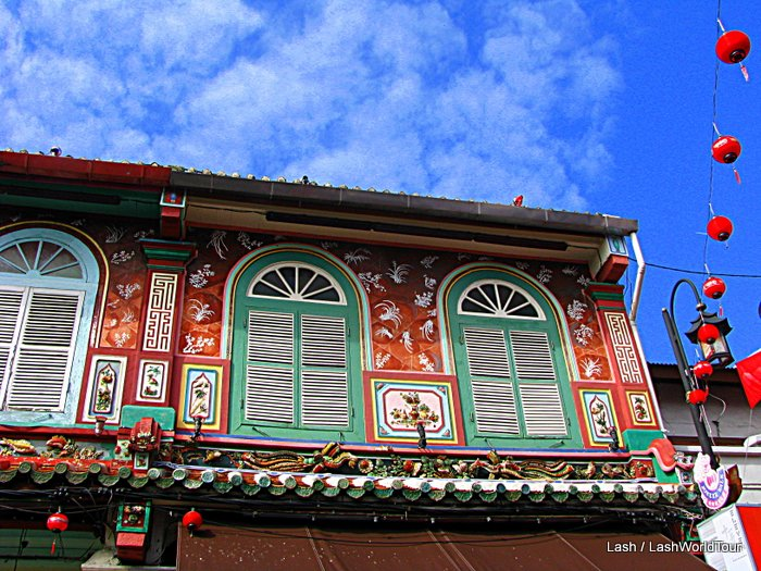 restored shophouse - Malacca Malaysia