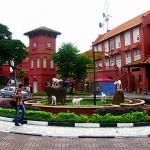colonial Dutch buildings - Malaka - Malaysia