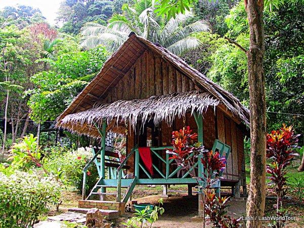 Beach Hut Accommodation In Long Beach Ko Lanta Thailand