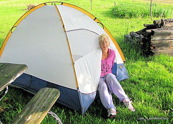 Lash - camping