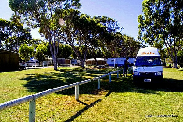 caravan park - Australia