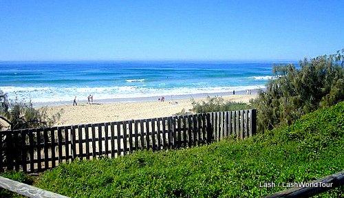caravan park- beach - Australia
