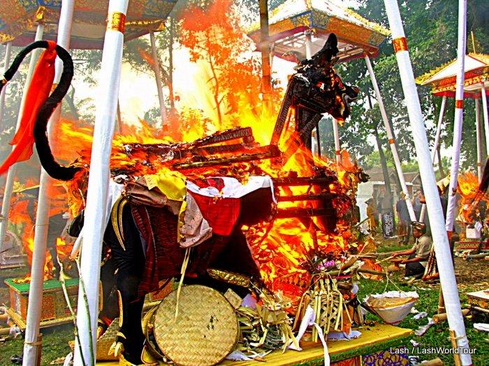 Cremation Ceremony - Bali