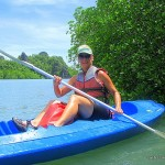 outdoor adventures - kayaking in mangroves