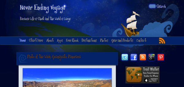 NeverEngingVoyage Screenshot