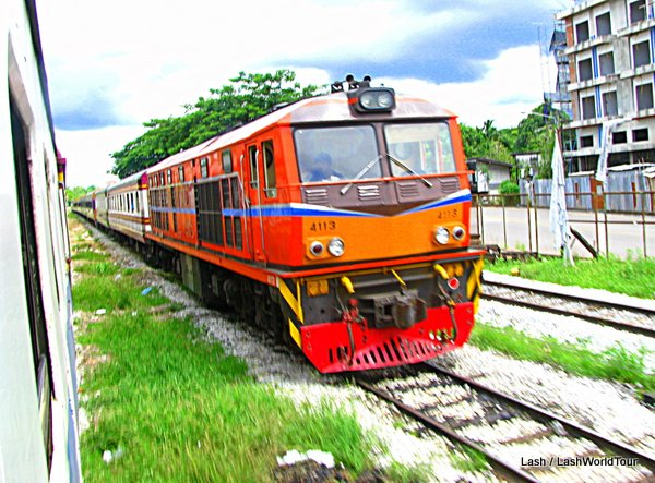 Thai train - TRAIN - Thailand