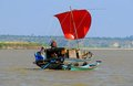 sailboat - Ayerarwady River - Myanmar