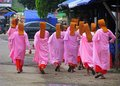 young nuns in Myanmar
