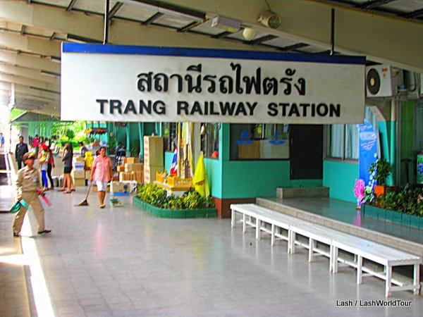 Trang train station- Thailand
