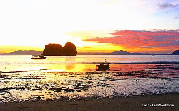 sunset - Koh Ngai - Trang