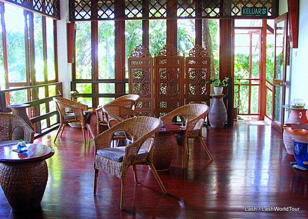 Ishan Spa reception - Langkawi