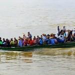 passenger boat - Ayerarwady River - Myanmar