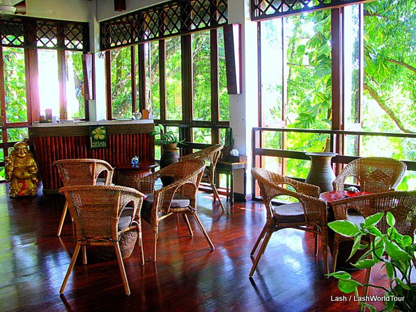 Ishan Spa reception - Langkawi - Malaysia