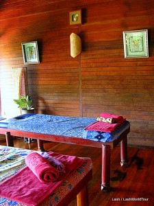 massage room - Ishan Spa