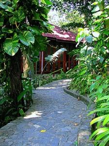 walkway - Ishan Spa