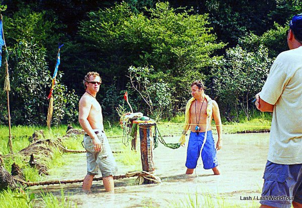 setting up a challenge game in the Amazon