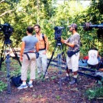filming Survivor Amazon challenges in the jungle