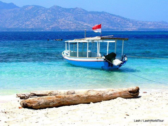 Boat at Gili Meno - Lombok - Indonesia
