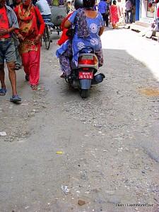 Kathmandu bad roads