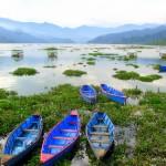 Phewa Tal Lake in Pokhara - Nepal