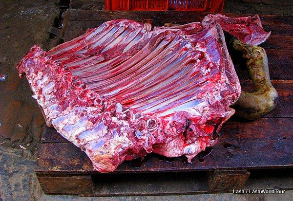 fresh meat on sale - Kathmandu