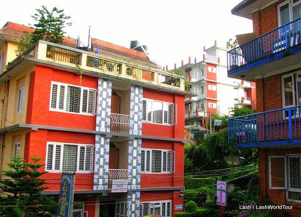 guest houses at Paknajol - Kathmandu