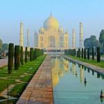 one of 12 views of the Taj Mahal
