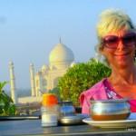 LashWorldTour at Taj Mahal