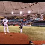 Tampa Bay Rays playing at Tropicana Stadium - Tampa