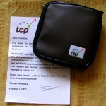 TEP Wireless Modem pack with welcome letter