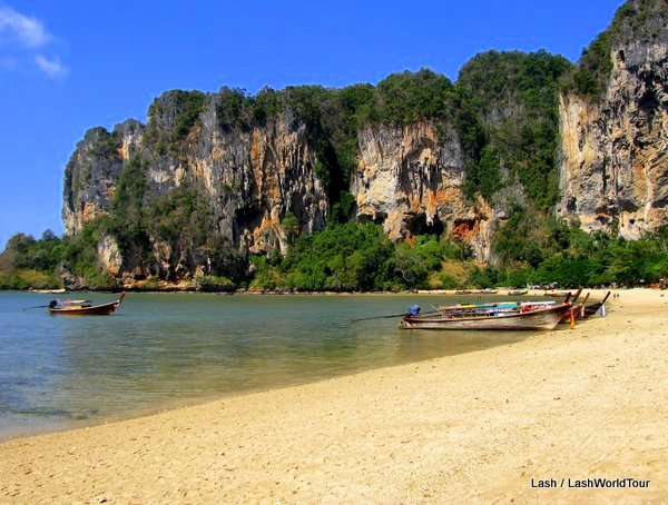 Tonsai Beach is one of my favorite places in Thailand