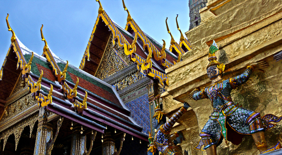 Grand Palace in Bangkok - photo by Brad Augsburger