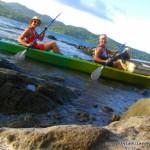 kayaking in Fiji