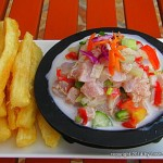 traditional Fiji Dishes include kokoda and fried cassava