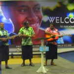 Live traditional music welcome at Fiji International Airport